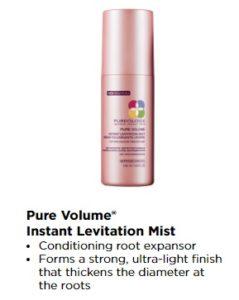 Pure Volume instant mist