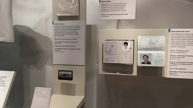 "Bubbles founder Ann Ratner's original passport on display in Smithsonian's National Museum of American History ""Many Voices, One Nation"" exhibition"