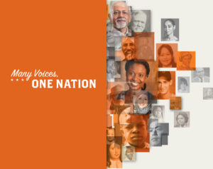 """Many Voices, One Nation,"" a new exhibition opening June 28 at the Smithsonian's National Museum of American history"