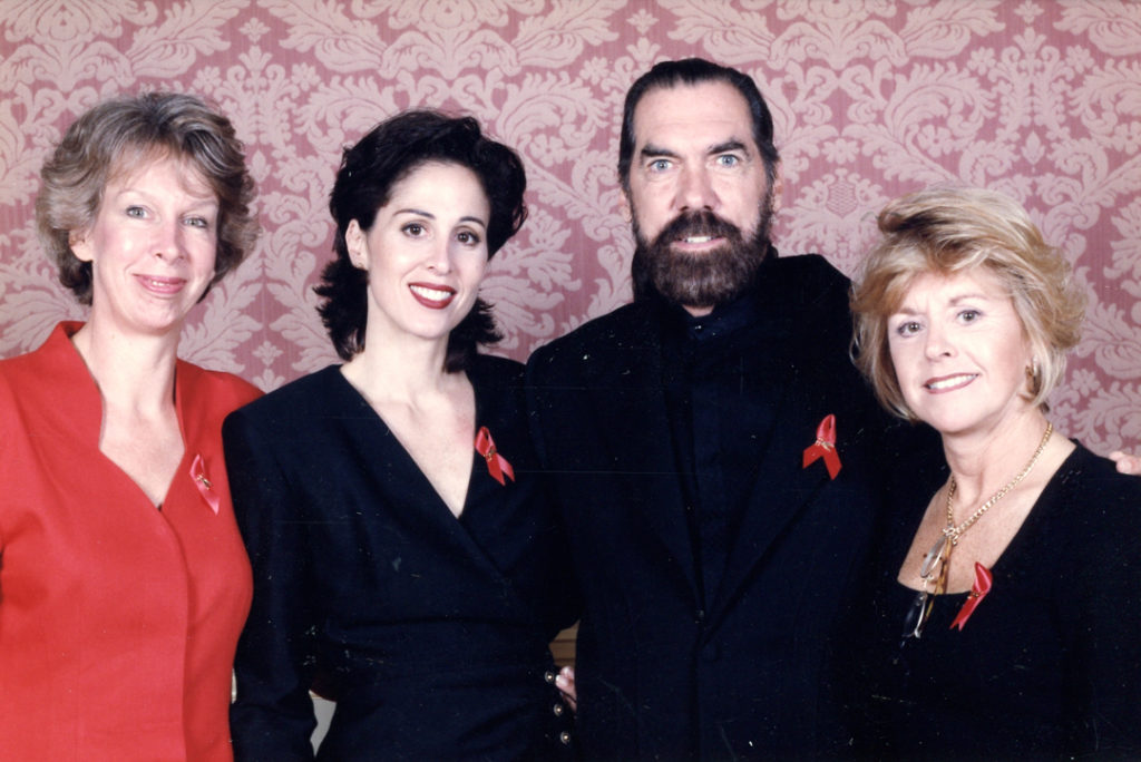 Brigit Brikic, Judy Glazer, Paul Mitchell co-founder, John Paul DeJoria and Ann Ratner