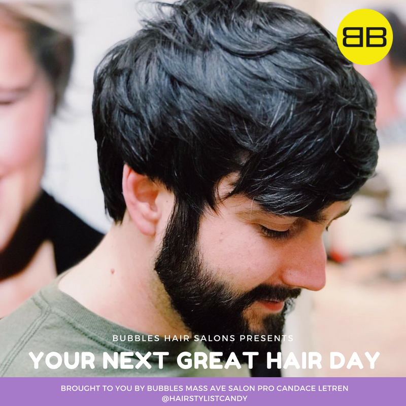 Great Hair Day | Image of men's hair cut with beard