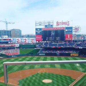 Summer means baseball. Let's go, Nats!