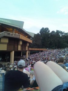 Wolf Trap draws a crowd during the summer